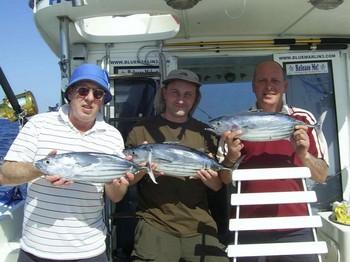 24/05 skipjack tuna Cavalier & Blue Marlin Sport Fishing Gran Canaria