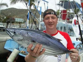 14/06 skipjack tuna Cavalier & Blue Marlin Sport Fishing Gran Canaria
