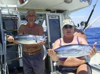 20/06 skipjack tuna Cavalier & Blue Marlin Sport Fishing Gran Canaria