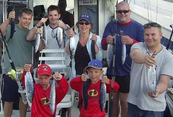 21/06 happy fishermen Cavalier & Blue Marlin Sport Fishing Gran Canaria