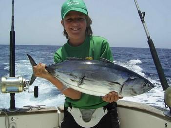 20/07 skipjack tuna Cavalier & Blue Marlin Sport Fishing Gran Canaria