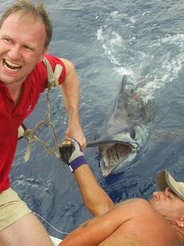 21/07 blue marlin Cavalier & Blue Marlin Sport Fishing Gran Canaria