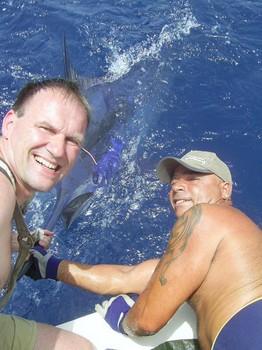 22/07 blue marlin Cavalier & Blue Marlin Sport Fishing Gran Canaria
