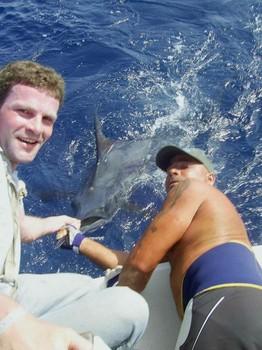 26/07 blue marlin Cavalier & Blue Marlin Sport Fishing Gran Canaria