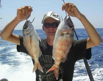 13/08 red snapper Cavalier & Blue Marlin Sport Fishing Gran Canaria