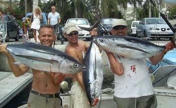 29/08 albacore tuna Cavalier & Blue Marlin Sport Fishing Gran Canaria