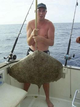 17/09 butterfly ray Cavalier & Blue Marlin Sport Fishing Gran Canaria