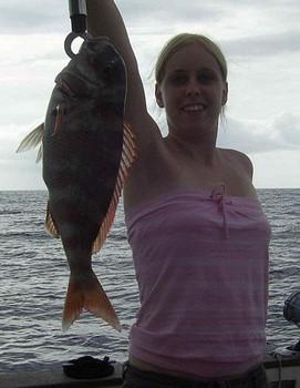 19/09 red snapper Cavalier & Blue Marlin Sport Fishing Gran Canaria