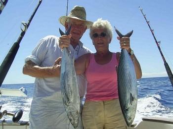 21/09 north atlantic bonito Cavalier & Blue Marlin Sport Fishing Gran Canaria