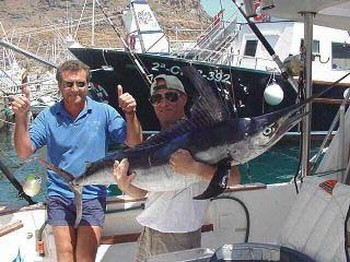 Marlin  white Atlantic Cavalier & Blue Marlin Sport Fishing Gran Canaria