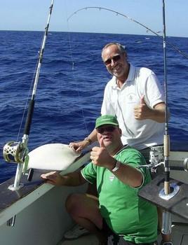 01/12 common stingray Cavalier & Blue Marlin Sport Fishing Gran Canaria