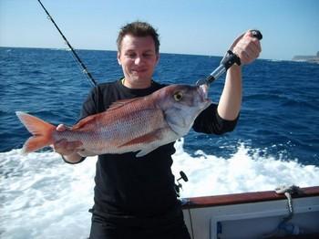 29/12 red snapper Cavalier & Blue Marlin Sport Fishing Gran Canaria