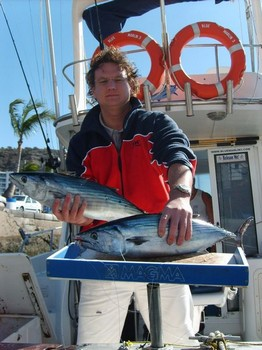 02/01 north atlantic bonito Cavalier & Blue Marlin Sport Fishing Gran Canaria