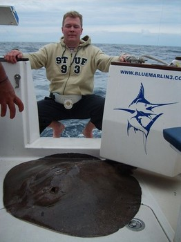 31/01 roughtail stingray Cavalier & Blue Marlin Sport Fishing Gran Canaria