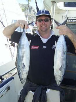 13/02 north atlantic bonito Cavalier & Blue Marlin Sport Fishing Gran Canaria