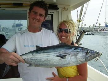 big smile Cavalier & Blue Marlin Sport Fishing Gran Canaria