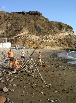 beach casting Cavalier & Blue Marlin Sport Fishing Gran Canaria