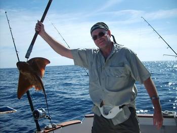 20/02 eagle ray Cavalier & Blue Marlin Sport Fishing Gran Canaria