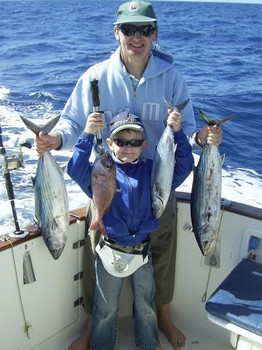 28/02 father & son Cavalier & Blue Marlin Sport Fishing Gran Canaria