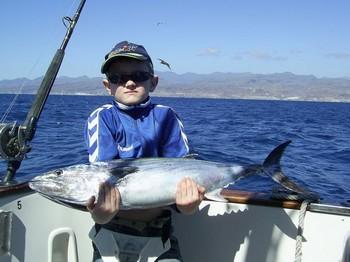 power lifting Cavalier & Blue Marlin Sport Fishing Gran Canaria