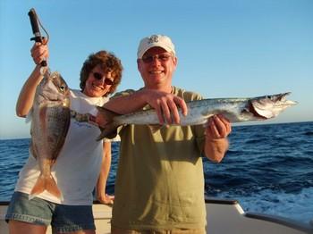red snapper - baracuda Cavalier & Blue Marlin Sport Fishing Gran Canaria