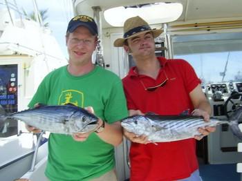 08/03 Chris & Wolfgang Cavalier & Blue Marlin Sport Fishing Gran Canaria