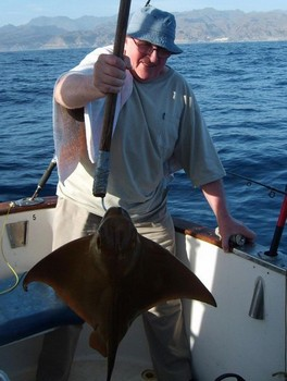 09/03 eagle ray Cavalier & Blue Marlin Sport Fishing Gran Canaria