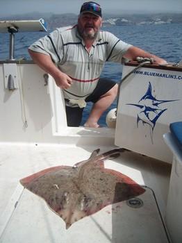15/03 blonde ray Cavalier & Blue Marlin Sport Fishing Gran Canaria