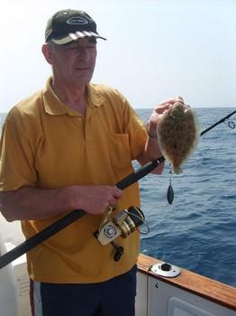 wide eyed flounder Cavalier & Blue Marlin Sport Fishing Gran Canaria