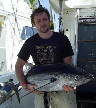 23/03 albacore tuna Cavalier & Blue Marlin Sport Fishing Gran Canaria