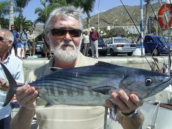 03/04 north atlantic bonito Cavalier & Blue Marlin Sport Fishing Gran Canaria