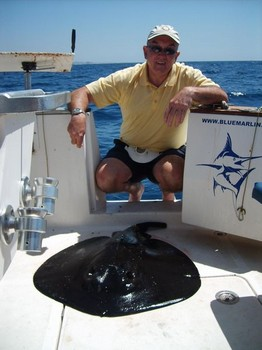 04/04 roughtail stingray Cavalier & Blue Marlin Sport Fishing Gran Canaria