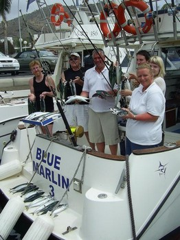 06/04 mackerel Cavalier & Blue Marlin Sport Fishing Gran Canaria