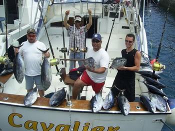 12/04 big eye tuna Cavalier & Blue Marlin Sport Fishing Gran Canaria