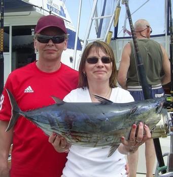 atún listado Pesca Deportiva Cavalier & Blue Marlin Gran Canaria