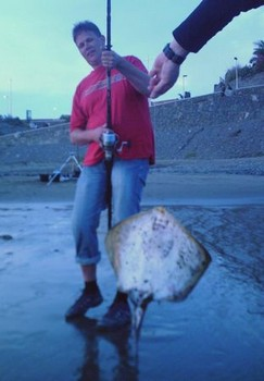 19/04 round stingray Cavalier & Blue Marlin Sport Fishing Gran Canaria