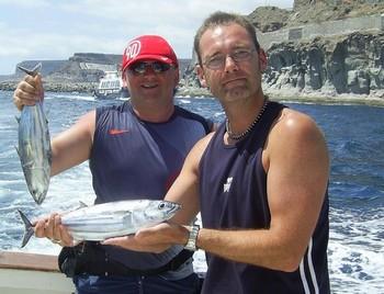 28/04 skipjack tuna Cavalier & Blue Marlin Sport Fishing Gran Canaria