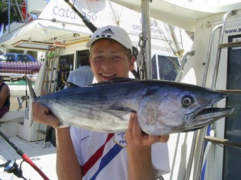 01/05 north atlantic bonito Cavalier & Blue Marlin Sport Fishing Gran Canaria