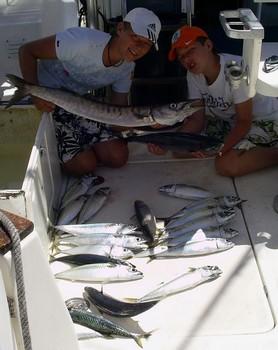 baracuda - bonito Cavalier & Blue Marlin Sport Fishing Gran Canaria