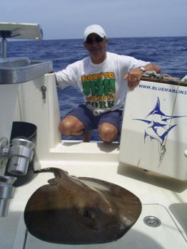 17/05 round stingray Cavalier & Blue Marlin Sport Fishing Gran Canaria