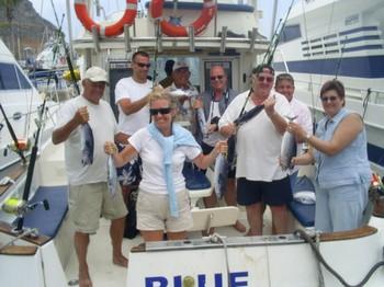 18/05 skipjack tuna Cavalier & Blue Marlin Sport Fishing Gran Canaria