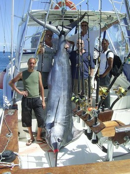 6 happy sport fisher Cavalier & Blue Marlin Sport Fishing Gran Canaria