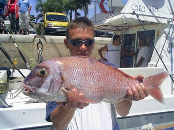 24/05 red snapper Cavalier & Blue Marlin Sport Fishing Gran Canaria