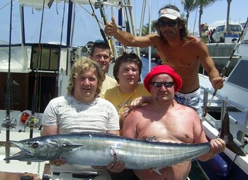 25/05 wahoo Cavalier & Blue Marlin Sport Fishing Gran Canaria