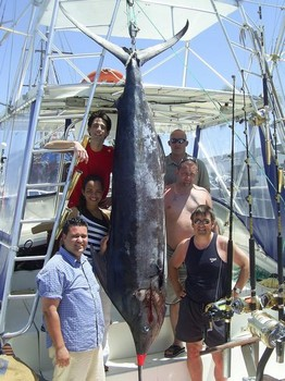 28/05 blue marlin Cavalier & Blue Marlin Sport Fishing Gran Canaria