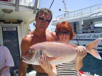 29/05 red snapper Cavalier & Blue Marlin Sport Fishing Gran Canaria