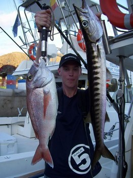 red snapper - baracuda Cavalier & Blue Marlin Sport Fishing Gran Canaria
