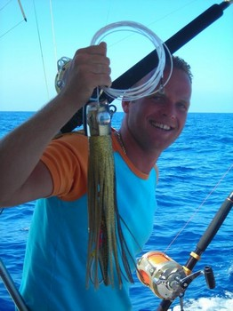 lucky lure Cavalier & Blue Marlin Sport Fishing Gran Canaria