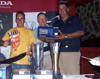 21/07 the winners Cavalier & Blue Marlin Sport Fishing Gran Canaria