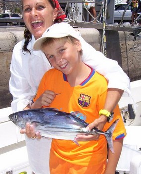 09/08 skipjack tuna Cavalier & Blue Marlin Sport Fishing Gran Canaria